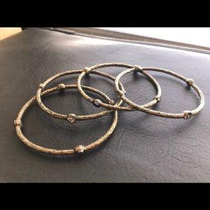 🏖Magical Antique Brass Stackable Bracelets🏖